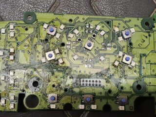 Damaged Circuit board